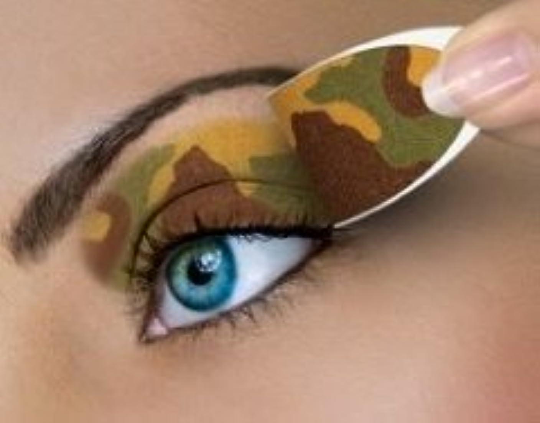 すごい労苦ベジタリアン米国シネマシークレット社製 カモフラージュ 貼るインスタントアイシャドウ(カラーオン) Camouflage CO056