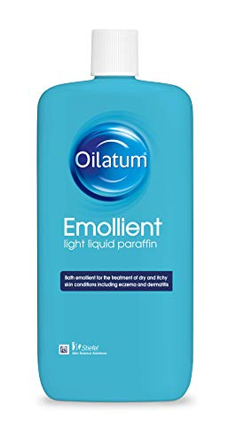 Oiltum Emollient Light Liquid Paraffin For Eczema & Itchy Skin, 500ml