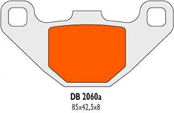 Delta Braking Db2060qdn Sinter Bremsbeläge Hinten Kompatibel Für Tgb 50 R X Bullet 06 11 Auto