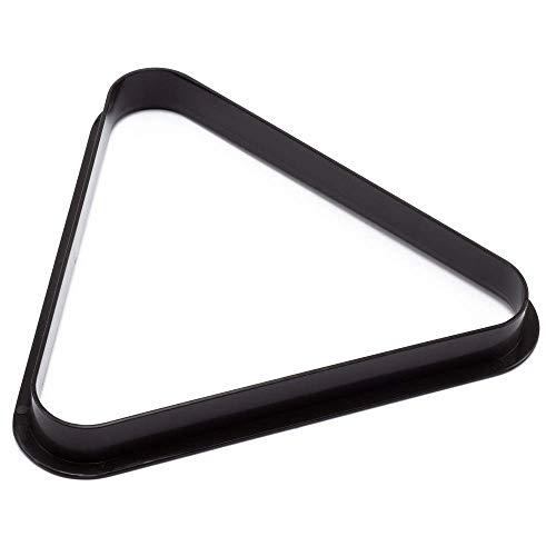 BILLARES Y DARDOS CAMARA Triángulo para Bolas de Billar Americano de plástico,...