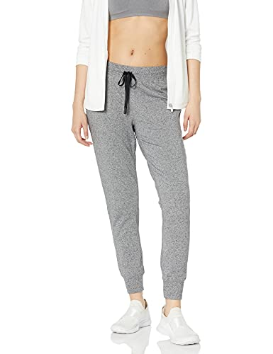 Amazon Essentials Women's Studio Terry Relaxed-Fit Jogger Pant, Grey Marl, S