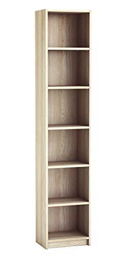 Preisvergleich Produktbild habeig Regal DICO Weiss Standregal Bücherregal Badregal TV-Regal HiFi-Regal Büroregal ( 32 200x40x30cm)