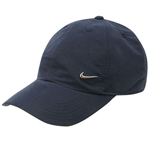 Nike Kinder Baseball Kappe Metal Swoosh Jungs, Marine Junior 7-14 Jahre