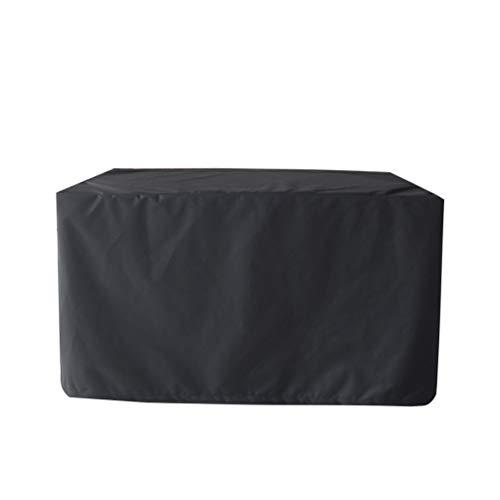 Couverture de Meubles de Patio, Accessoires Classiques Rectangulaires Imperméables Durables de Couverture de Meubles de Jardin pour Le Sofa - 123 * 123 * 74cm