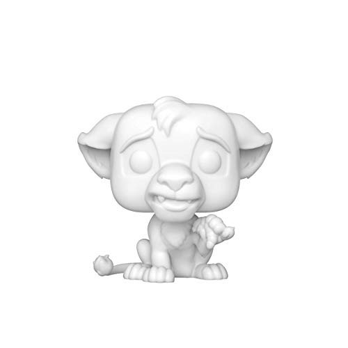 Funko 43685 Pop Disney: Lion King-Simba (DIY)(WH) Juguete Coleccionable, Multicolor