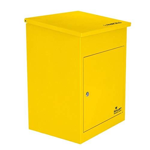 Paketbriefkasten Smart Parcel Box, gelb - 2