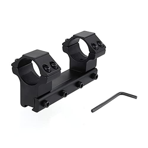FOCUHUNTER Aluminium Tactical High Profile 25,4 mm Zielfernrohrringe 11 mm Weaver / Picatinny-Montageringe für Schwalbenschwanzschienen-Zielfernrohr