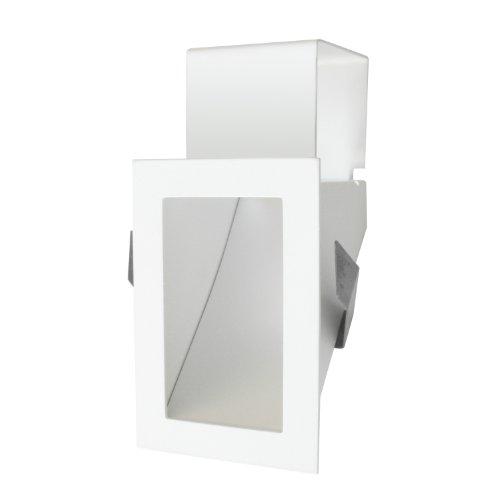 Studio Italia Design 104002 - Producto de iluminación empotrable de interior, color blanco