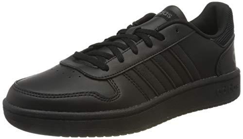 adidas Hoops 2.0, Zapatillas de básquetbol Mujer, Core Black/Core Black/Grey Six, 38 EU