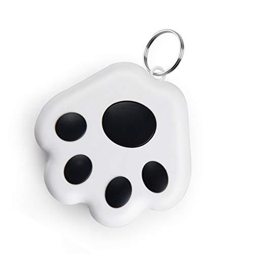 1 Pcs Smart Mini GPS Tracker Impermeable Bluetooth Tracer GPS para Mascota Perro Gato Llaves Cartera Bolsa Niños GPS Pet Tracker Buscador Equipos