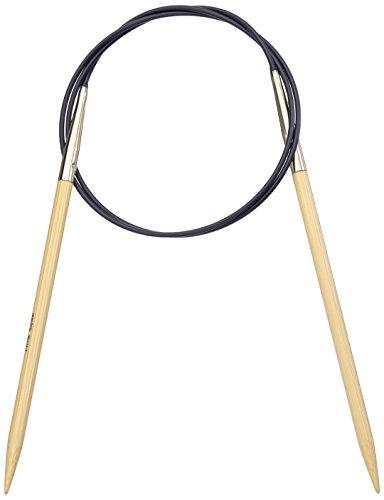 Prym Rundstricknadel BAMBUS 5,00 mm Stärke und 80 cm Länge