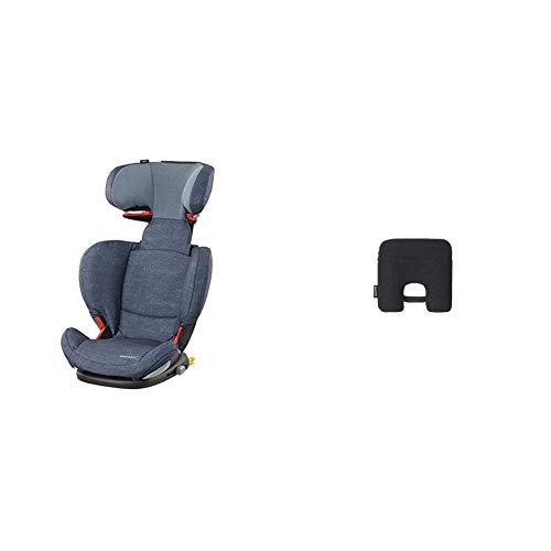 Bébé Confort RodiFix AirProtect Seggiolino Auto 15-36 kg, Reclinabile, Isofix, Nomad Blue + Dispositivo Anti Abbandono, Sensore Antiabbandono...