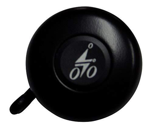 Reich Unisex– Erwachsene Sicherheitsglocke Fahrradklingel, schwarz, 1size