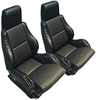 c4 corvette seat cover installation