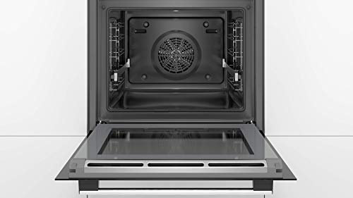 Bosch hbg5780s6 multifunctionele oven, 71 l, 60 cm, pyrolyse, roestvrij staal, Serie 6