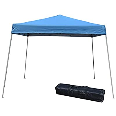 Impact Canopy 40000003 Slant Leg Canopy, 10' x 10', Blue