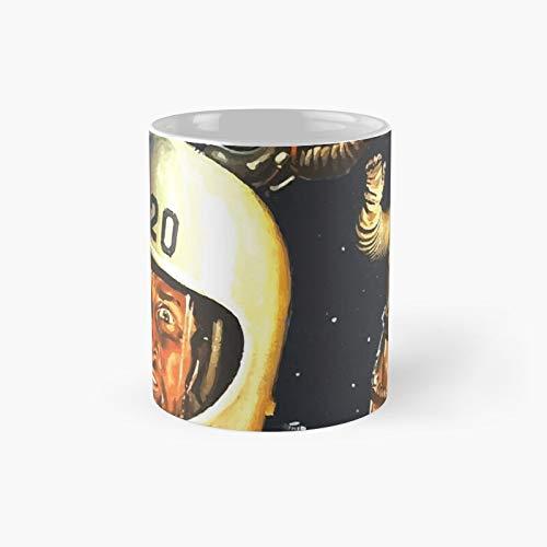 Taza clásica Never Fart in A Spacesuit, el mejor regalo divertido tazas de café 11 oz