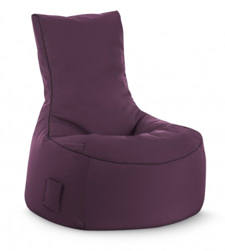 SITTING POINT only by MAGMA Sitzsack Brava Swing aubergine