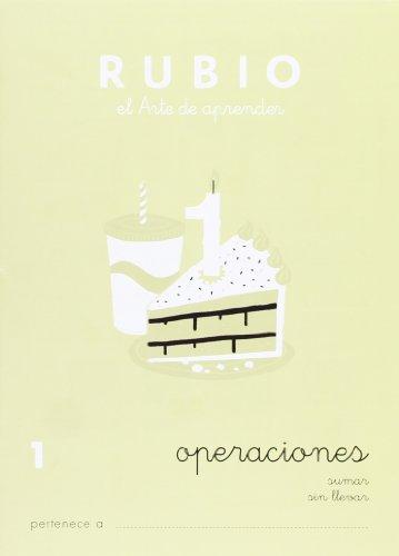 Ediciones Técnicas Rubio - Editorial Rubio Cuaderno problemas (Operaciones y Problemas): 1 (Operaciones y Problemas RUBIO)
