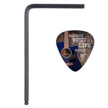 Creanoso Guitar Truss Rod Allen Wrench Adjustment Tool for Martin Acoustic Guitars