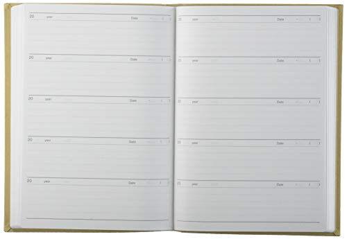 アーティミス5年連用日記帳ベージュDP5-140BE