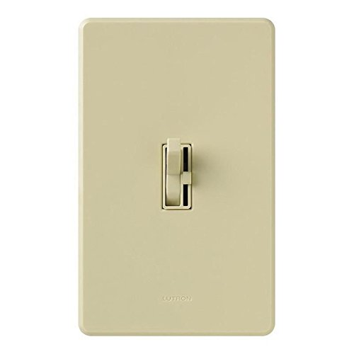 Lutron Aycl-153P-Iv Ariadni CFL/Led Dimmer Ivory Boxed