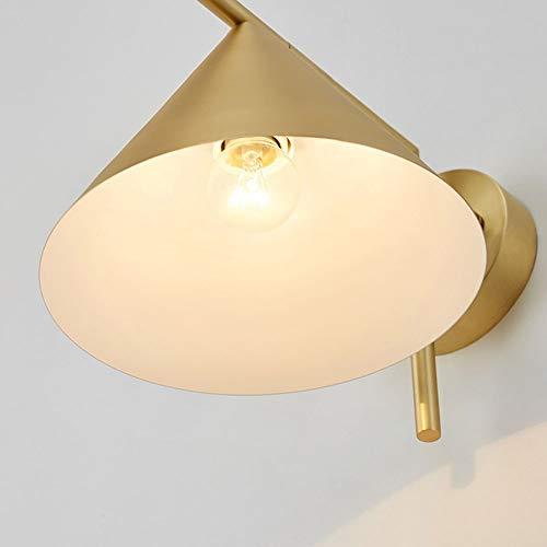 SWNN Luz de pared Diseño Minimalista Moderno, Cobre, Arte, Textura, Pantalla, Sala De Estar, Dormitorio, Pasillo, Moda, Lámpara De Pared