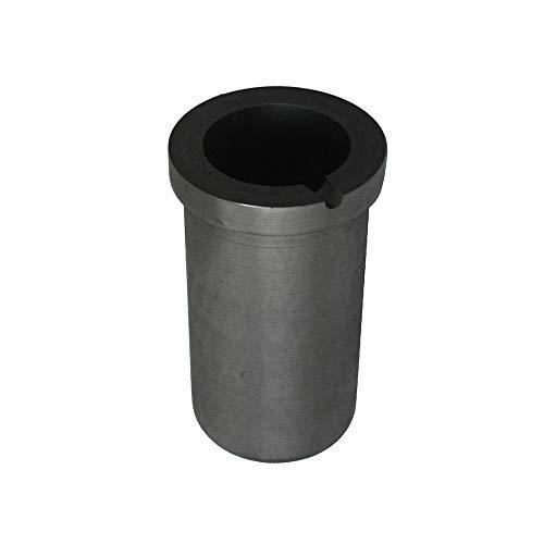 Fly-Fiber Graphittiegel Cup Schmelzen von Metall Refining Gold Silber Schrott Gießform Induktionsschmelzofen,3kgGoldor1.5kgSilver