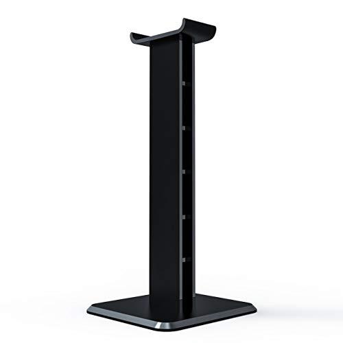 JIUY Z1 Universal para Auriculares Soporte de acrílico del Auricular del sostenedor del Soporte de visualización para Auriculares para Juegos (Negro)