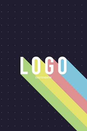 LOGO SKETCHBOOK: Dotted Notebook For Graphic Designers, Best Quality for crayons, colored pencils, watercolor paints, and markers
