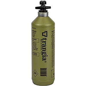 "trangia トランギア Fuel bottle フューエルボトル 1.0L 燃料ボトル olive オリーブ色 [並行輸入品]"""