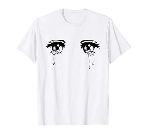 Sad Crying Anime Tear Eyes T-Shirt