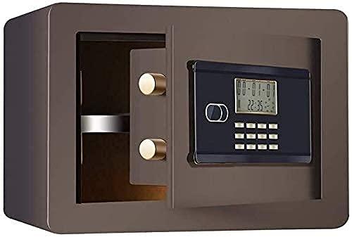 Caja de seguridad profesional, cajas fuertes y hucha, cajas de seguridad para el hogar, caja fuerte de depósito electrónico con apertura de publicación con ranura para caída - 35 x 25 x 25 cm, gabinet