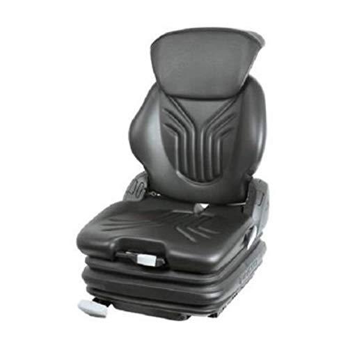 GRAMMER Primo Professional M aus Kunstleder (PVC), schwarz, MSG 75GL/521 (1212688), Sitz für Traktor und Schlepper