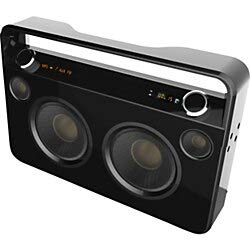 in budget affordable Portable Ultrasonic Bluetooth Speaker – 50W RMS – Black