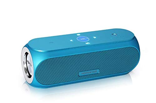 Altavoz Inteligente Altavoz Bluetooth Hopestar H19 Bluetooth Audio De Gama Alta Regalo De Escritorio Móvil Mini, Azul