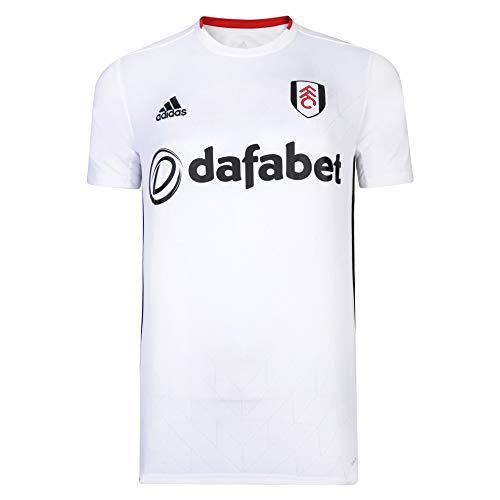Fulham Fußballclub 19/20 Heimtrikot für Erwachsene, weiß, XX-Large