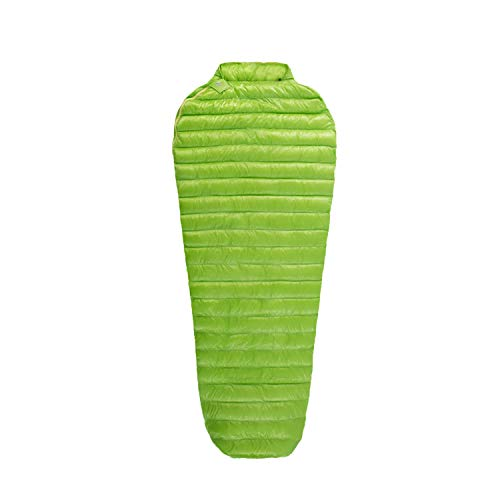 AEGISMAX Outdoor Urltra-Light Goose Down Sleeping Bag Three-Season Down Sleeping Bag Mummy Down Sleeping Bag Green L200cmW86cm