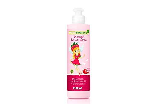 Nosa Champu Protec Fresa Rosa, 250 ml