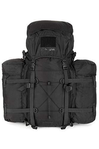 Snugpak | RocketPak | 70L | Rucksack | komplett abnehmbare Seitentaschen (schwarz)