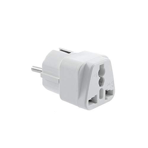 US AU UK to EU Universal Travel Power Adapter AL478