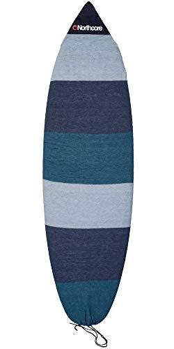 """Northcore Retro Stripe Shortboard Sock- 6\'0\"""""""