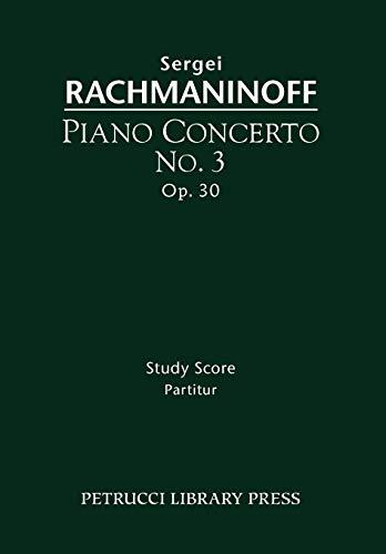 Piano Concerto No.3, Op.30: Study score
