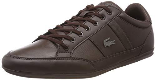 Lacoste Chaymon BL 1 CMA, Zapatillas para Hombre, Marrón (Dark Brown/Dark Brown), 42 EU
