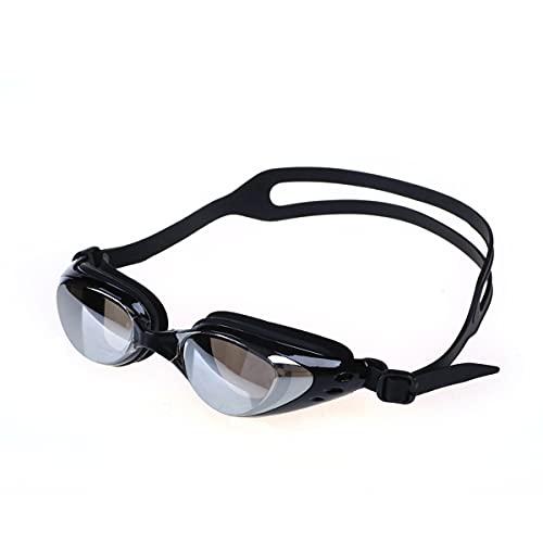 LIMESI Ergonómico Gafas Natación Polarizado Gafas de Natación Miopía HD Antivaho Unisexo Anti-UV Prueba de Fugas Gafas Nadar Ajuste para Adultos y Adolescentes Miopes-4.0