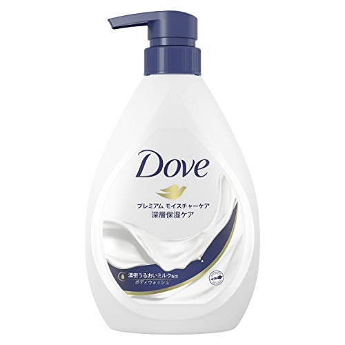 Dove(ダヴ) ボディウォッシュ プレミアム モイスチャーケア ポンプ 500g ボディーソープ ボディソープ 単品