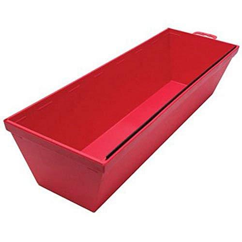 QLT par Marshalltown 914 30,5 cm Plastique Rouge Boue Poêle