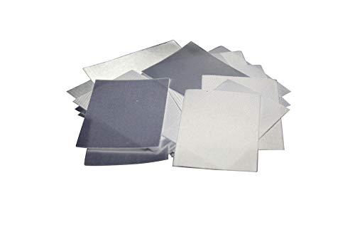 Hödtke Vertrieb 25 textieletiketten zonder opdruk (blanco)