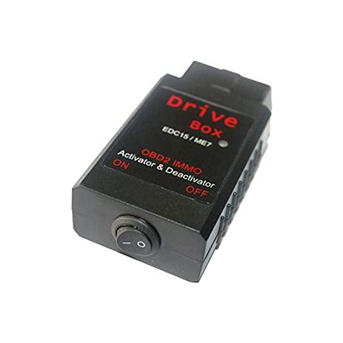 HaiMa pour Vag Drive Box pour Bosch Edc15/Me7 Obd2 II Immo Deactivateur Activateur-Noir