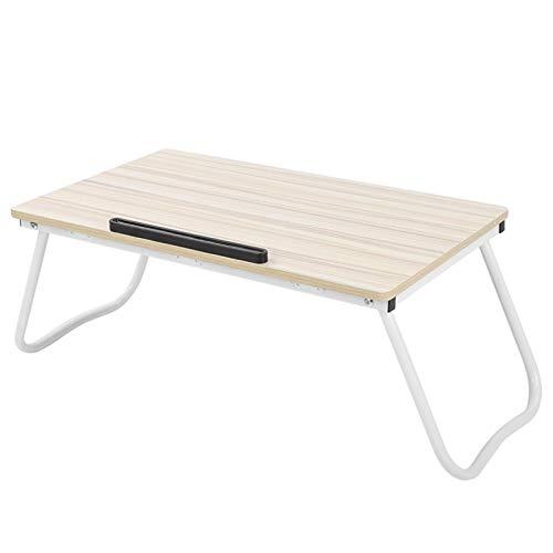Escritorio de cama plegable fácil de usar para escritorio de computadora portátil 36.1 x 60.2 x 28.6cm